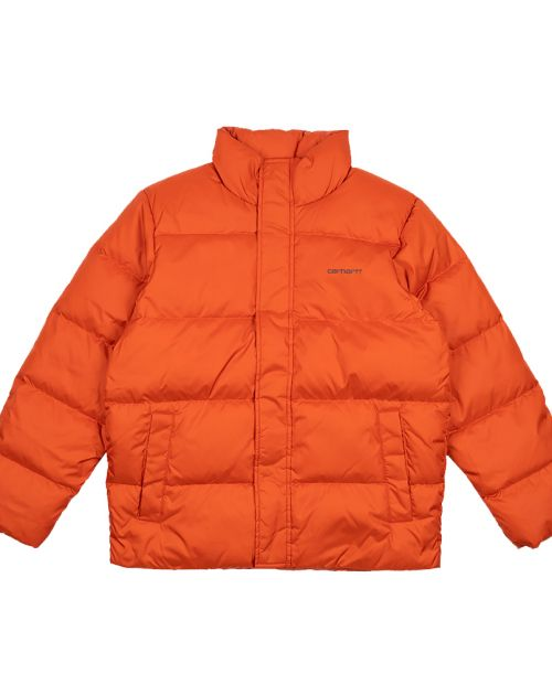 CARHARTT Deming Jacket Brick Orange3