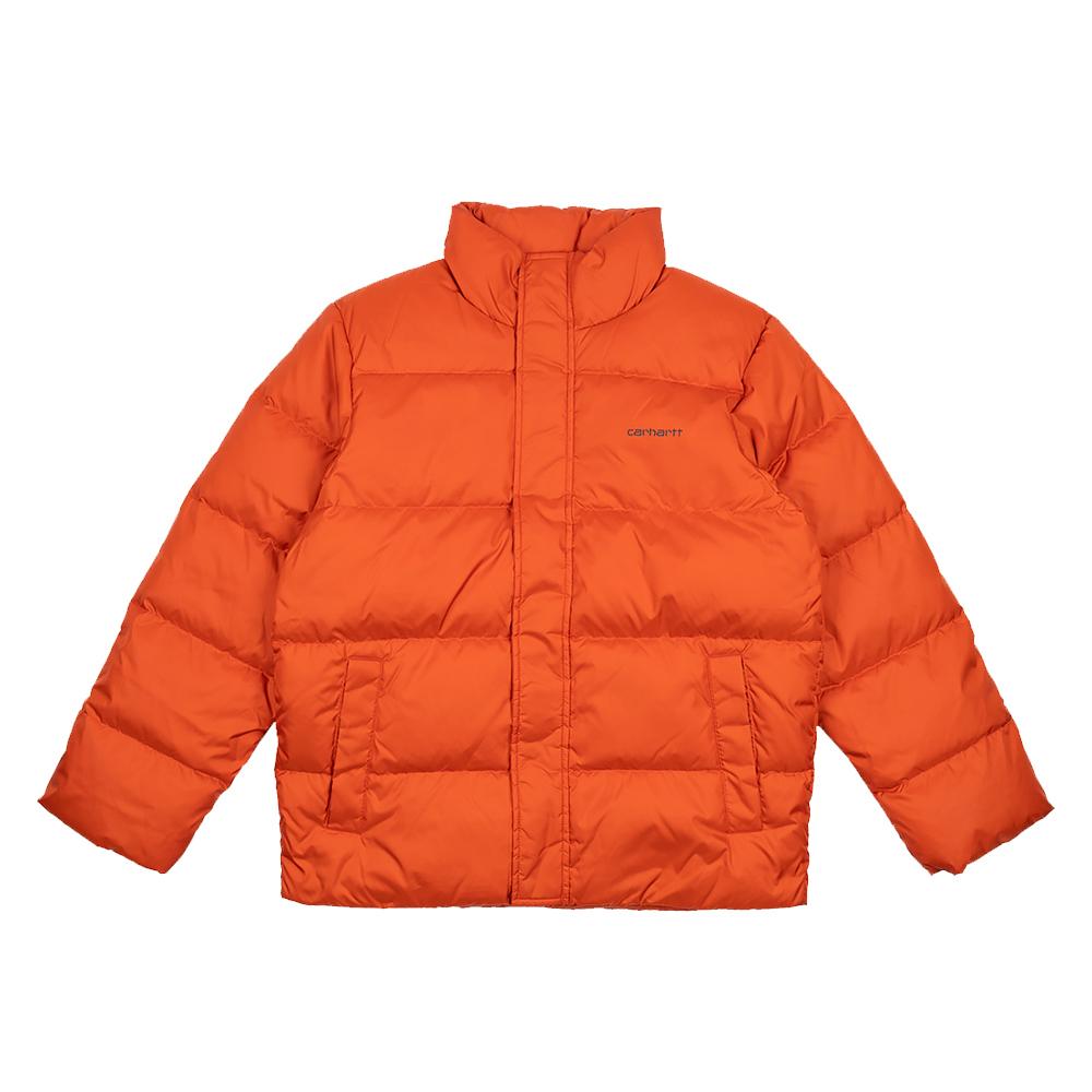 Piumino Carhartt Deming Brick Orange