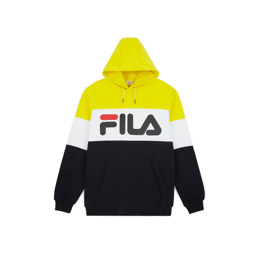 FILA Felpa da Uomo Night Blocked Hoodie2