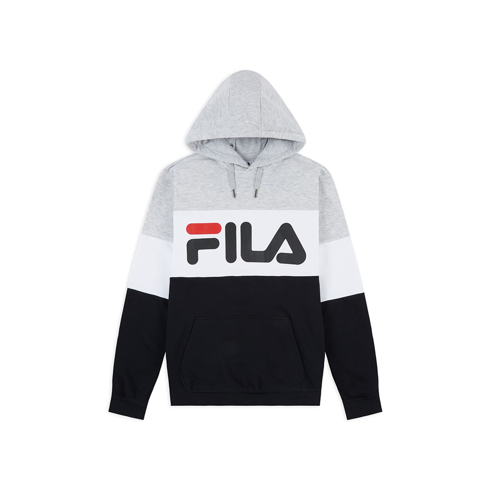 FILA Felpa da Uomo Night Blocked Hoodie3