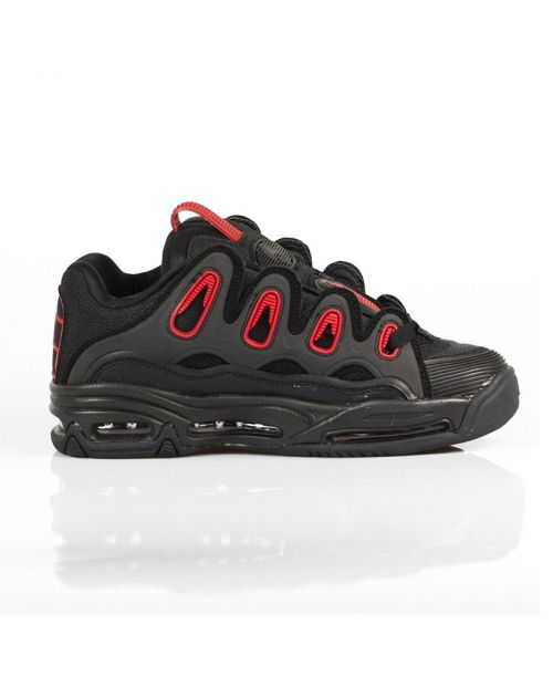 OSIRIS Scarpe 2001 D3 Black: Black: Red