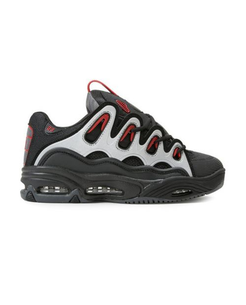 OSIRIS Scarpe 2001 D3 Black: Charcoal: Red