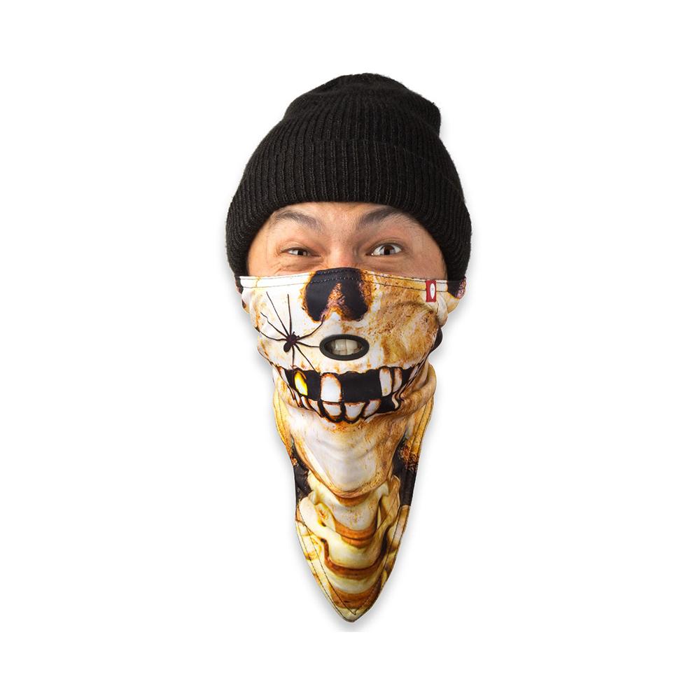 AIR HOLE Mask Neck Teschio1
