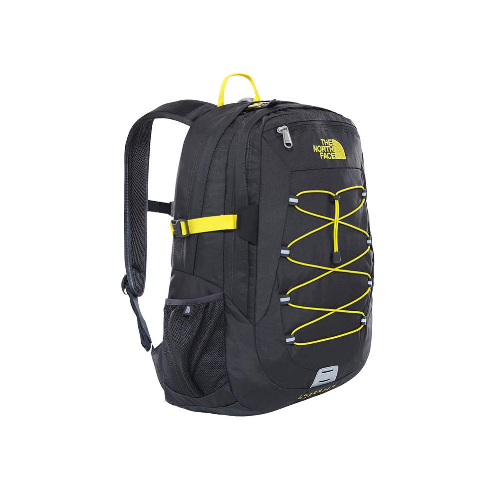 The North Face Borealis Classic Backpack GREY YELLOW