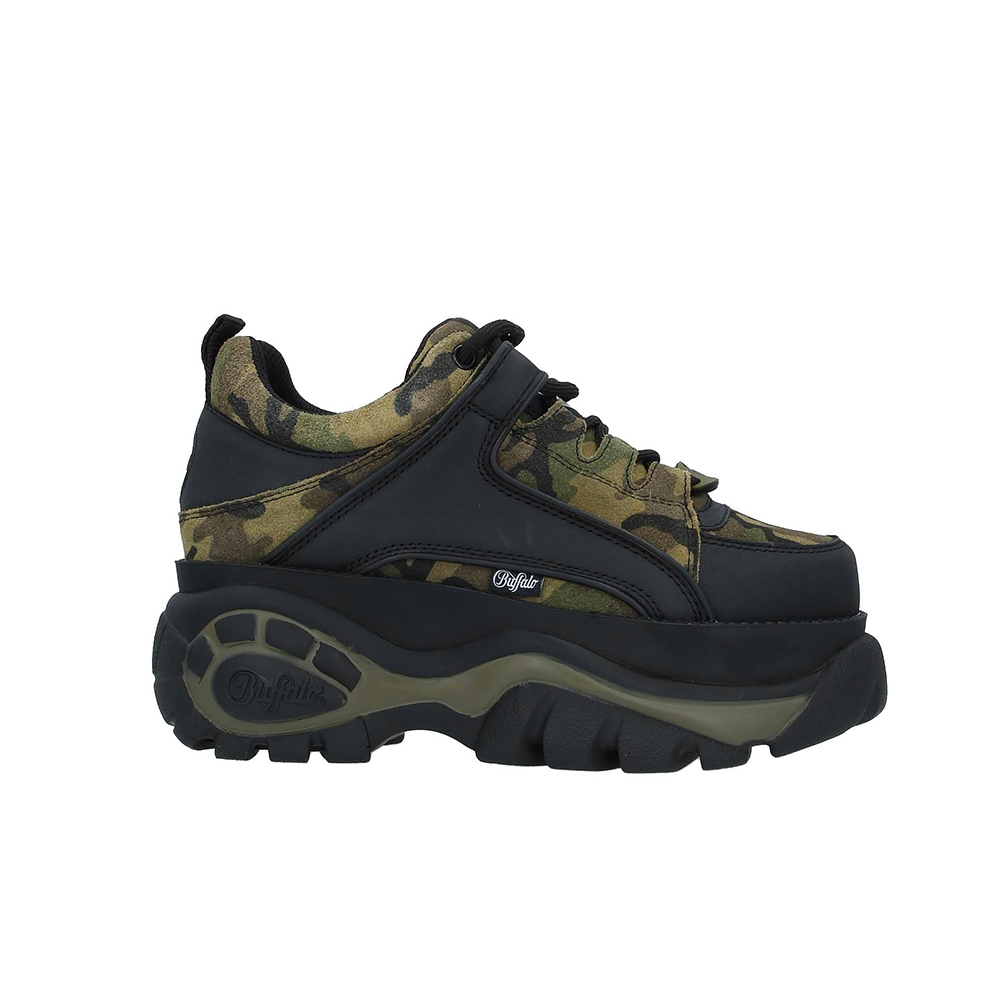 Scarpe Buffalo London Leather Camouflage