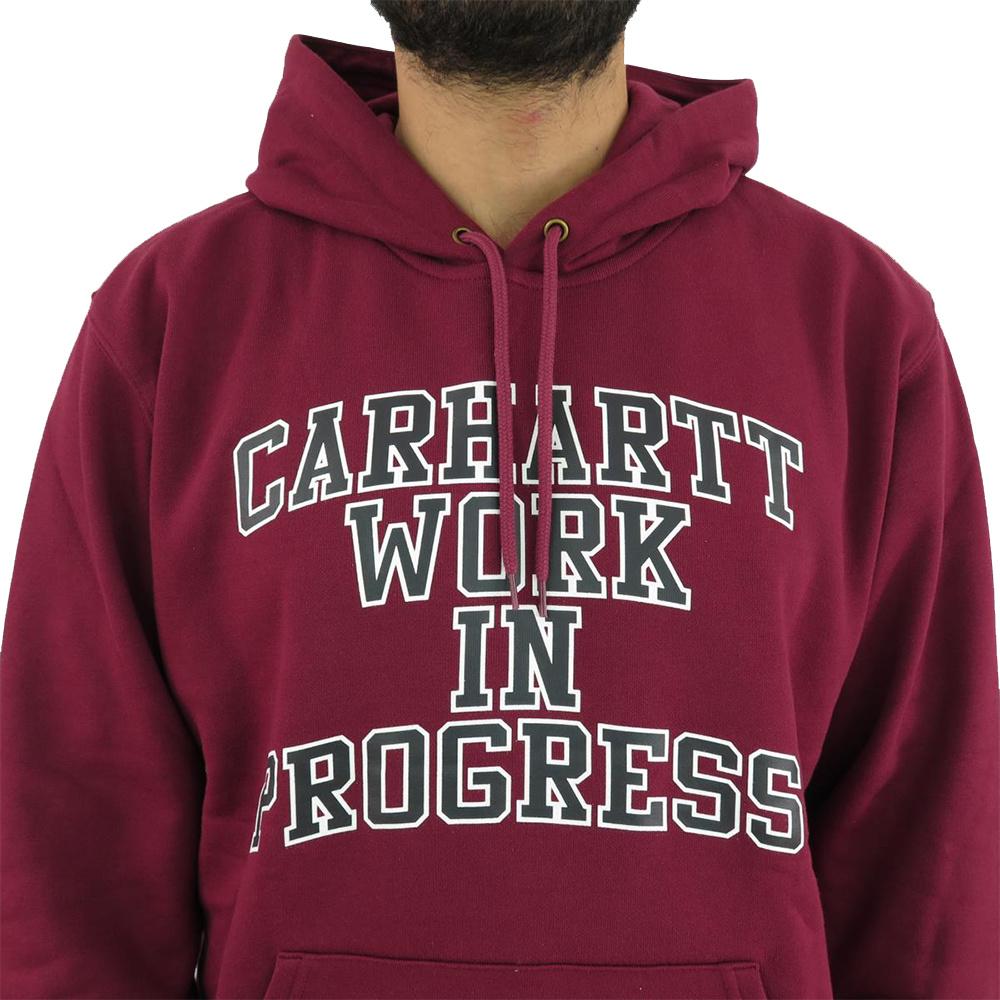 CARHARTT Felpa Wip Division Sweat Mulberry