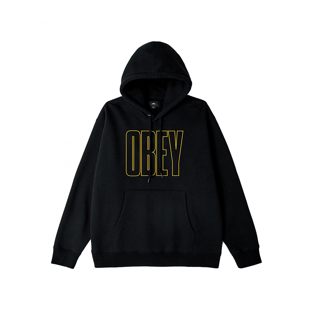 OBEY Worldwide Line Box Fit Premium Hooden Pullover