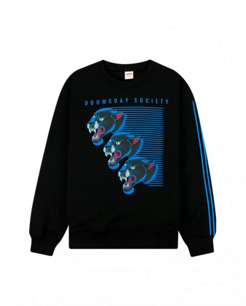 Felpa Doomsday Flash Panther Crewneck