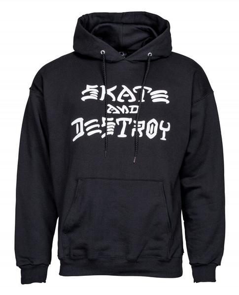Felpa Thrasher Skate and Destroy Hood