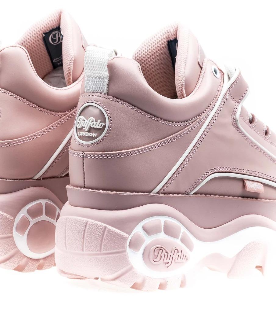 Buffalo London Nappa Leather Baby Pink3