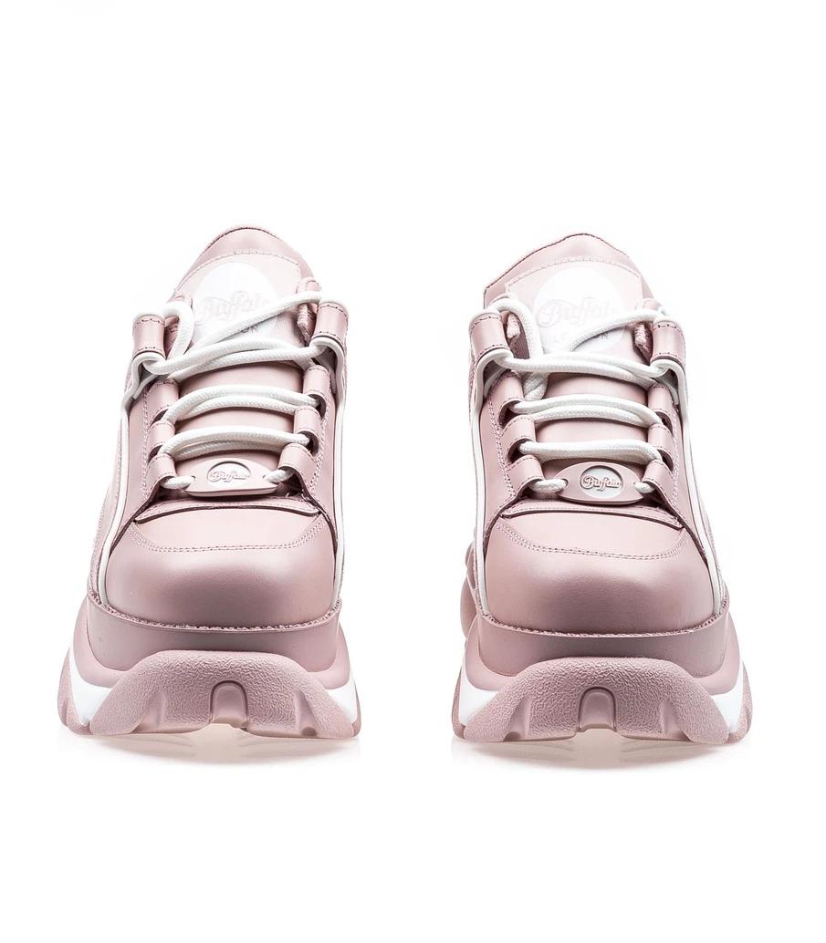 Buffalo London Nappa Leather Baby Pink4