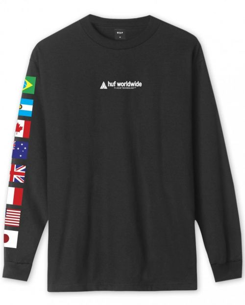 Huf Flag Union Long Sleeve T-Shirt