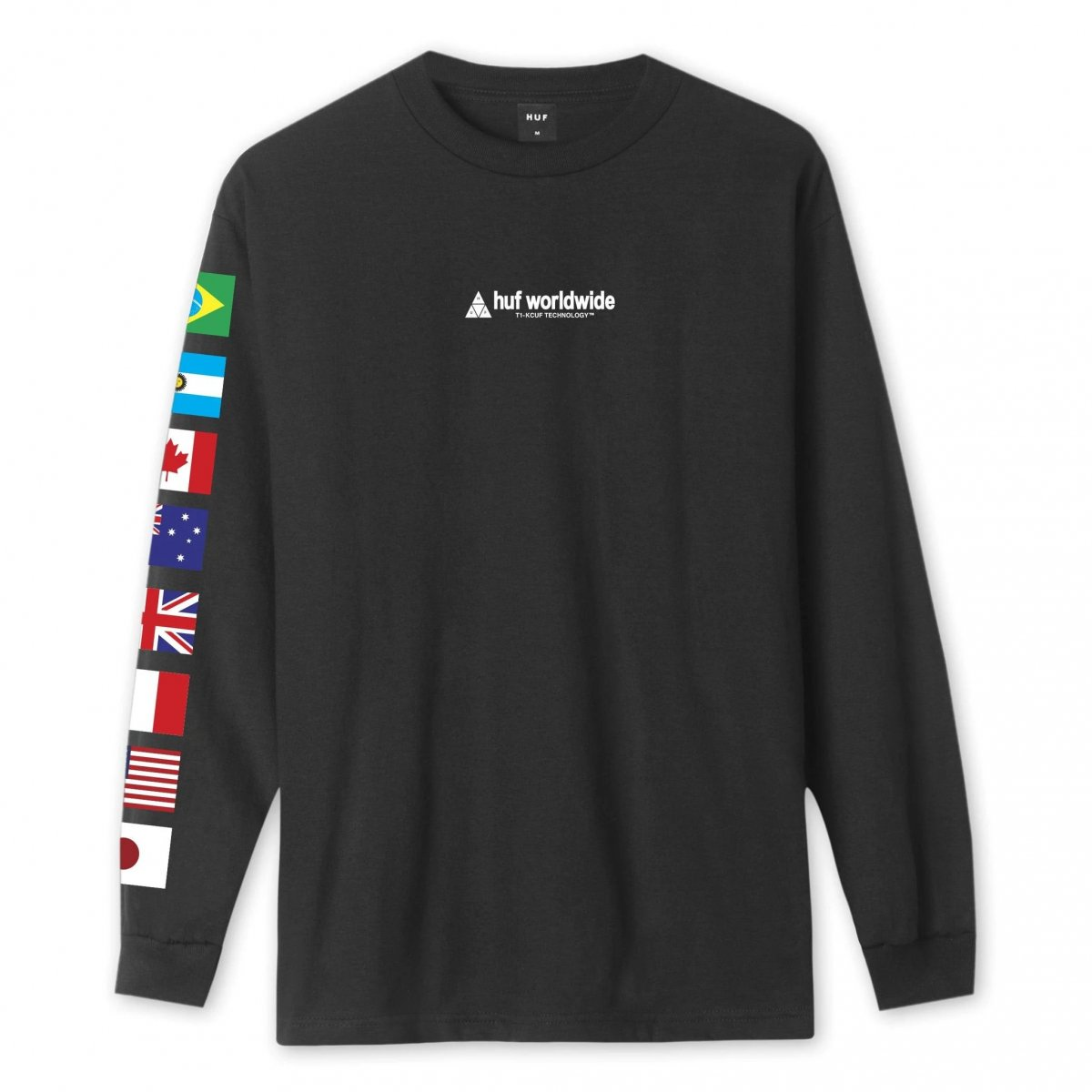 Huf Flag Union Long Sleeve T-Shirt