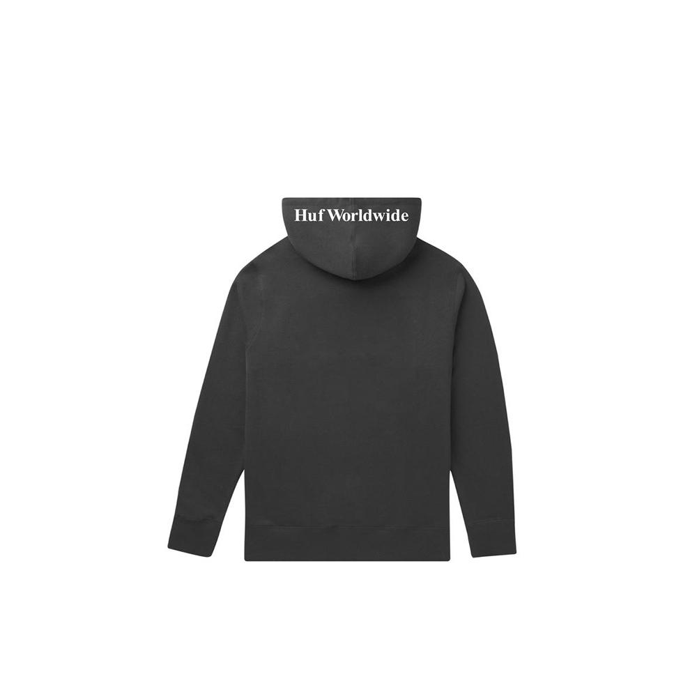 Huf Felpa Essential Box Logo P/O Hoodie Black