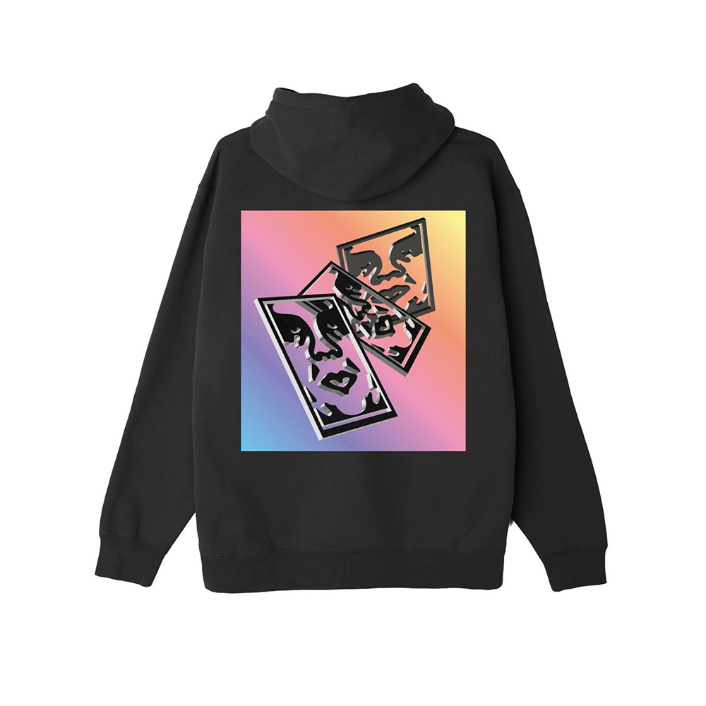 Obey Chaos & Entropy Box Fit Pullover Hood