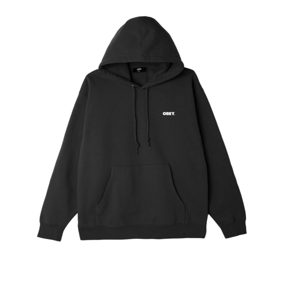 Obey Chaos & Entropy Box Fit Pullover Hood1
