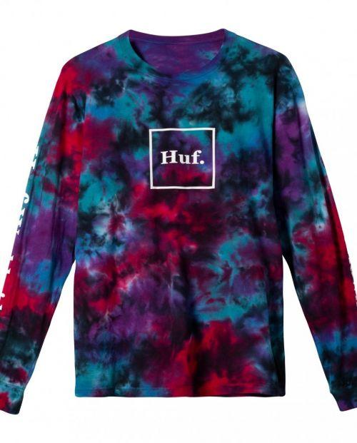 Huf T-Shirt Prism Wash Domestic Long Sleeve