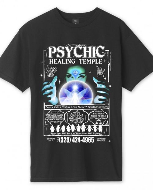 Huf T-Shirt Psychic Temple