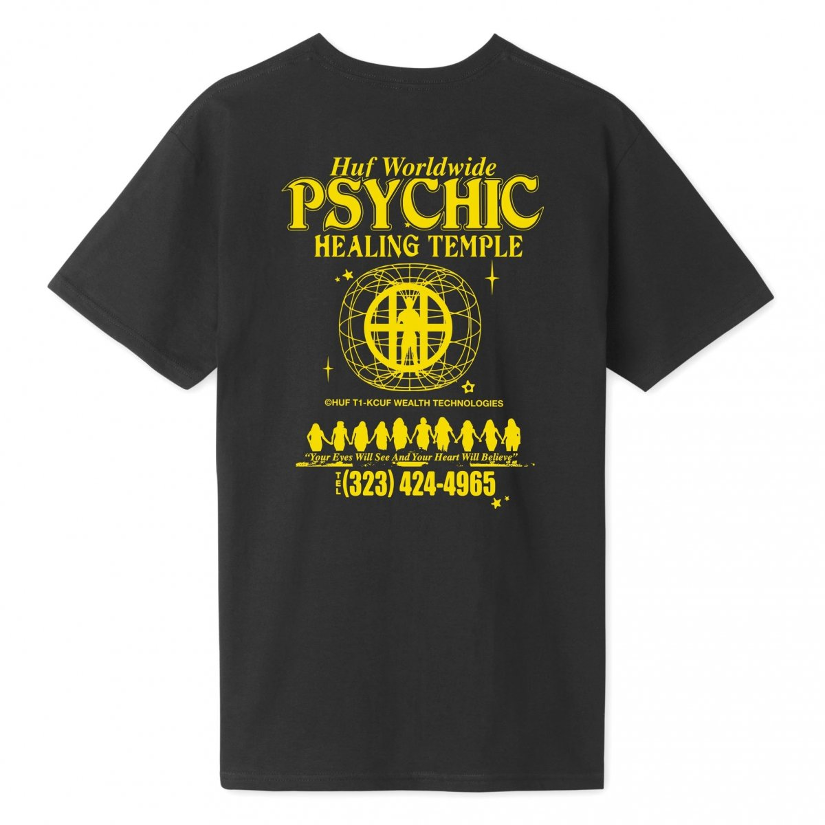 Huf T-Shirt Psychic Temple_2