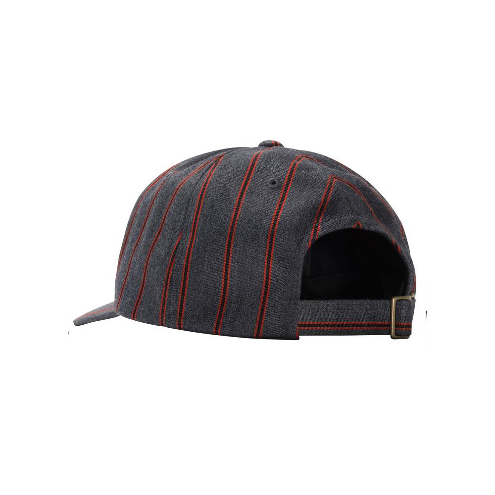 Stussy BIG LOGO Striped Low PRO CAP1