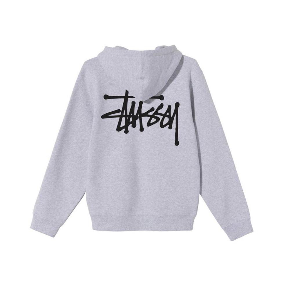 Stussy Basic Hood grigio