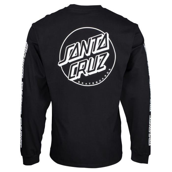 T-Shirt Santa Cruz Opus Dot Sleeves L/S
