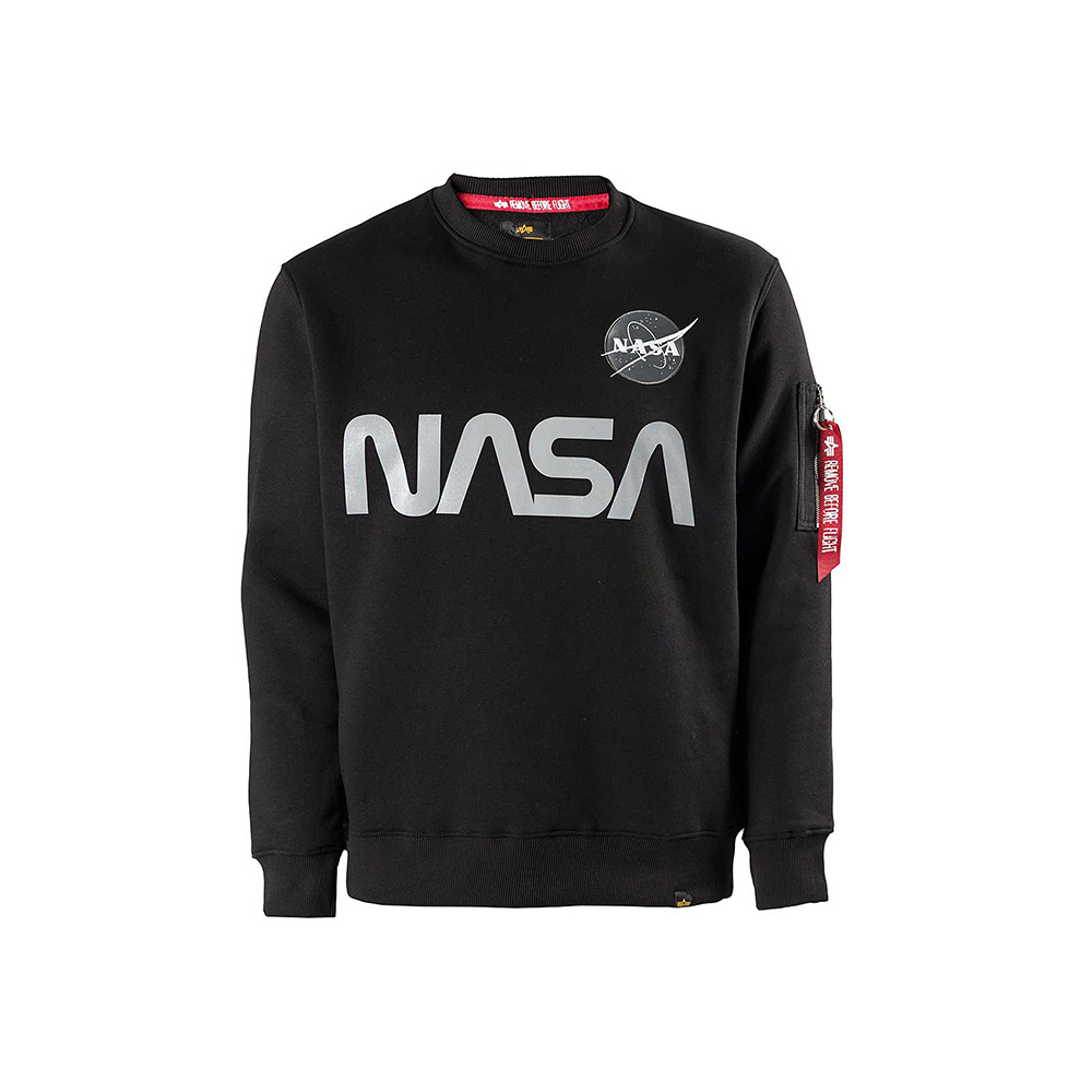 Alpha Industries Nasa Relective Sweater