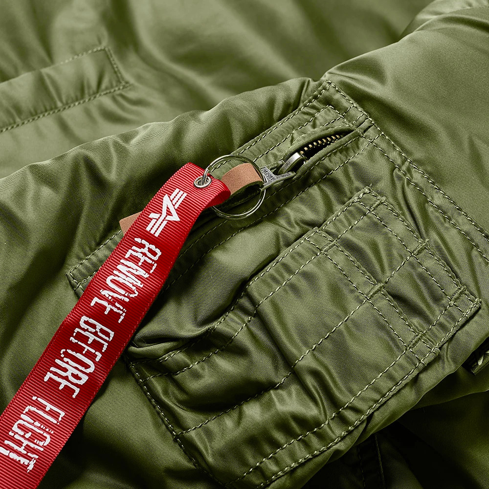 Alpha Industries Giacca MA-1 VF 59 green1
