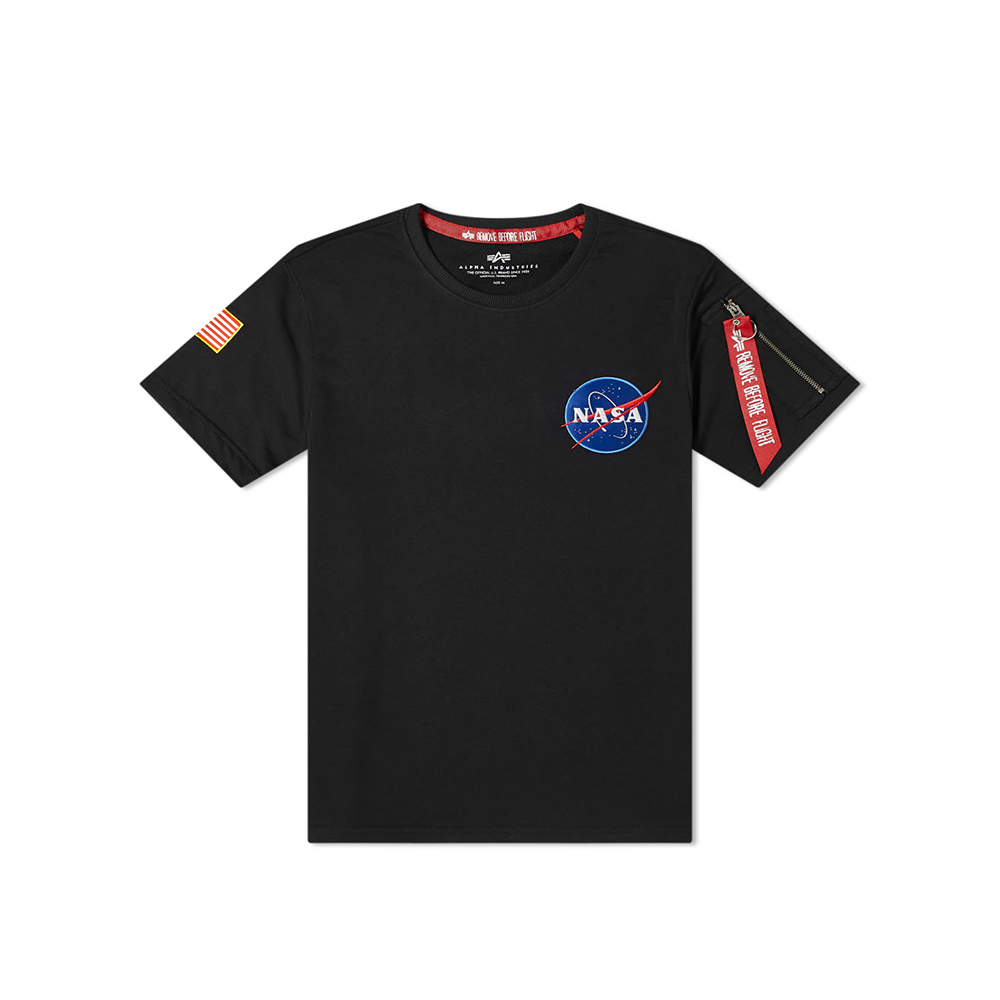 Alpha Industries Nasa Heavy T -Black
