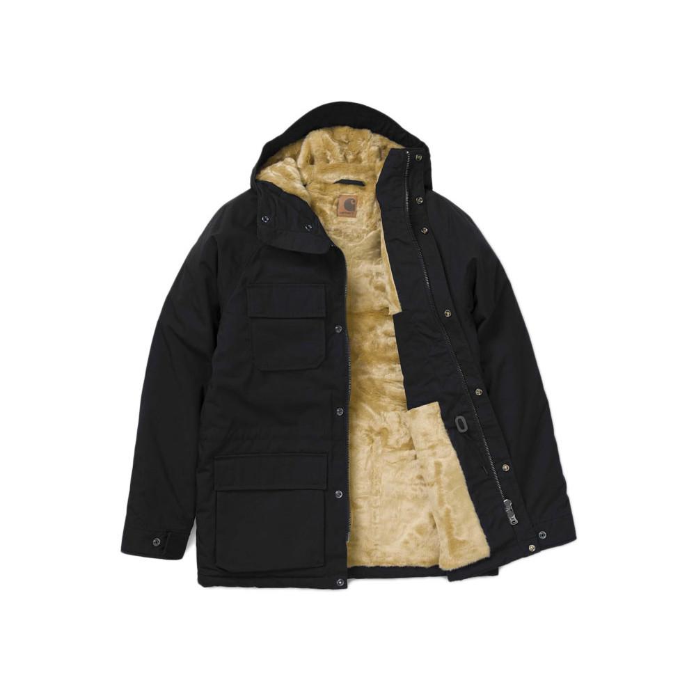 CARHARTT Giubbotto Mentley Jacket Black1