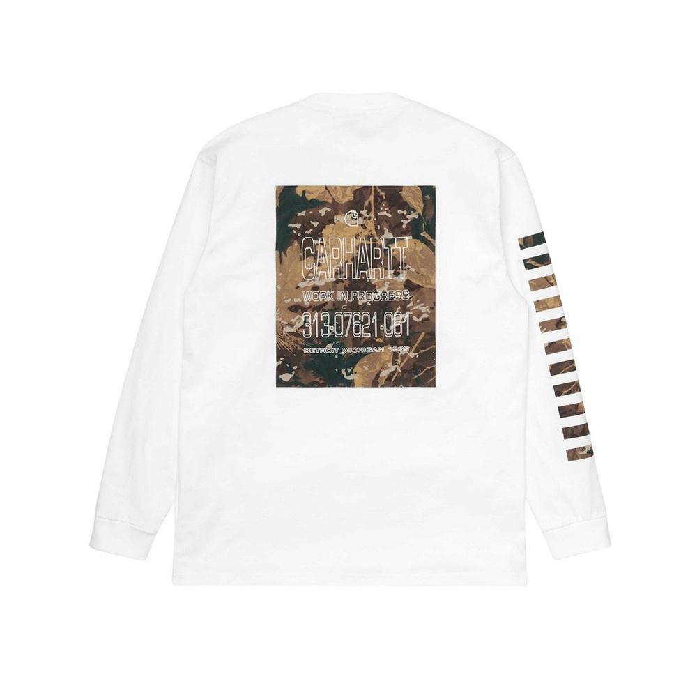 CARHARTT L/S Camo MII T-shirt