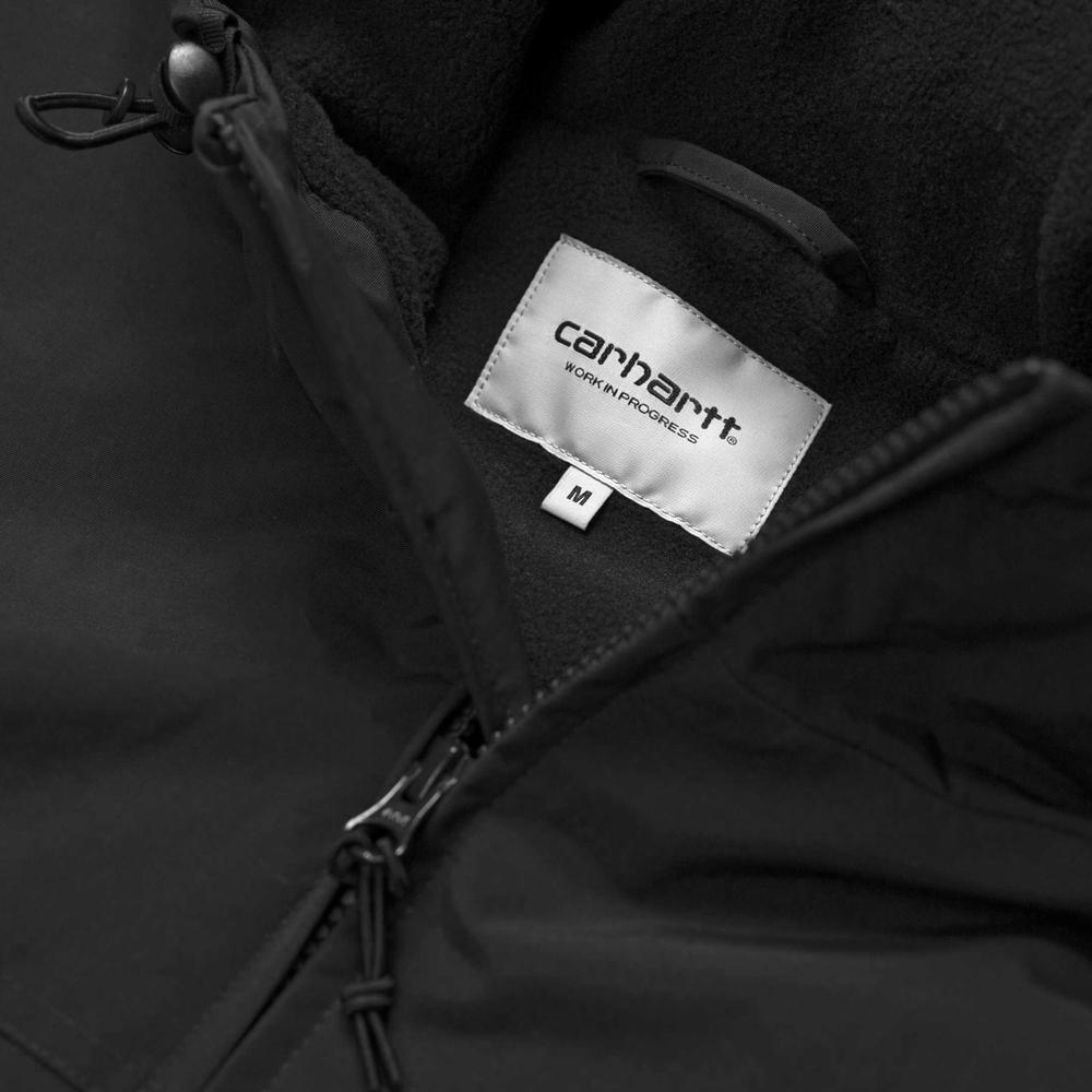 Carhartt Hooded Sail Jacket Black