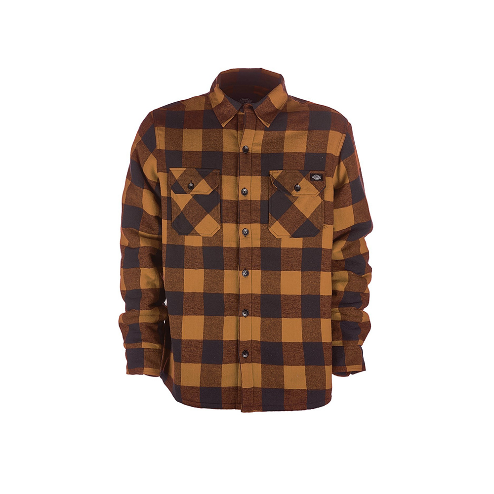 Dickies Lansdale Shirt Brown