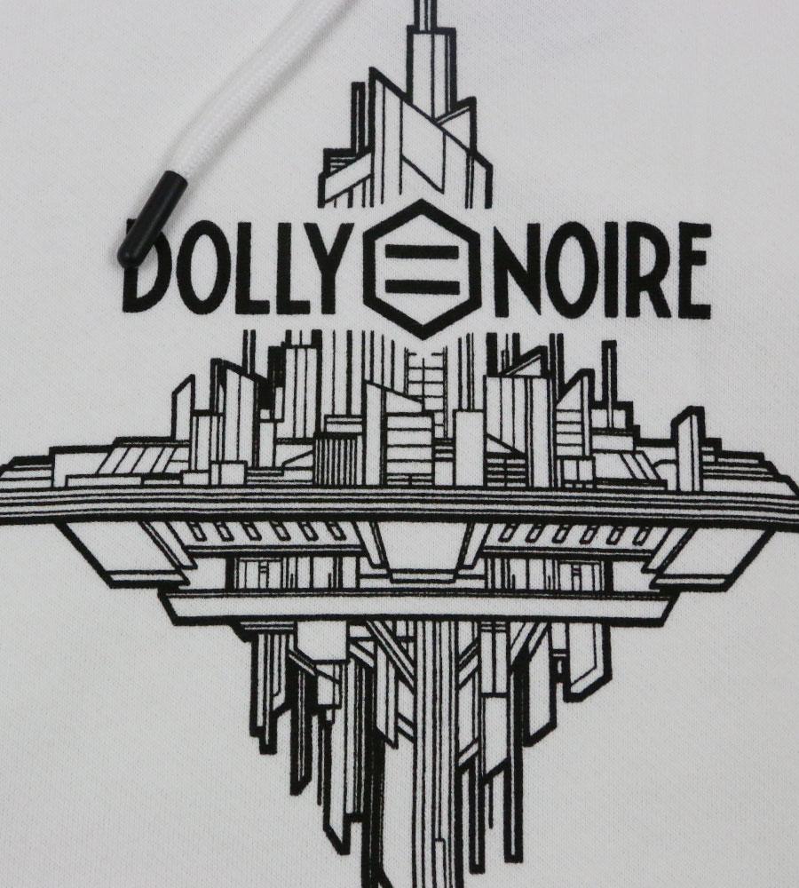 Dolly Noire – Nobu Protector Hoodie White