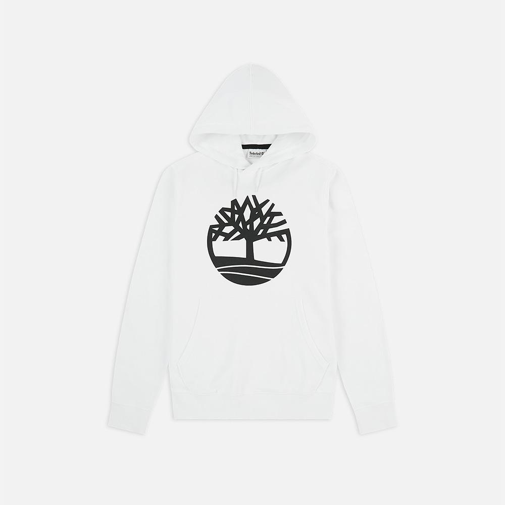 Felpa Timberland Core Logo Po white