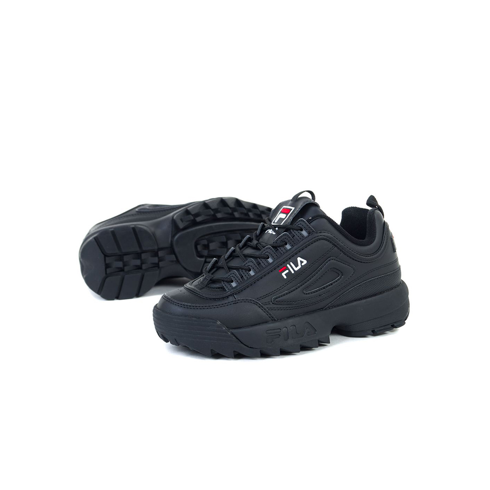 Fila Scarpe Distruptor Low Wmn black2