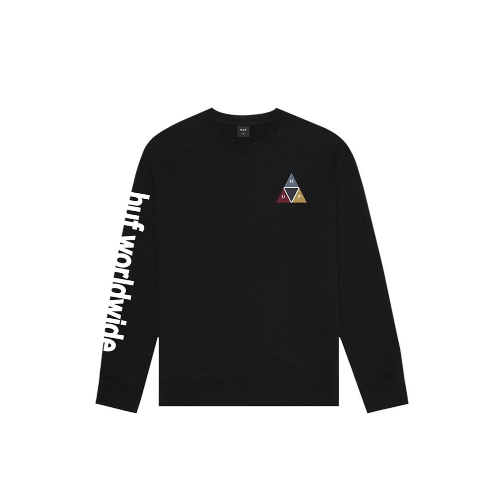 HUF Prism Crew Black