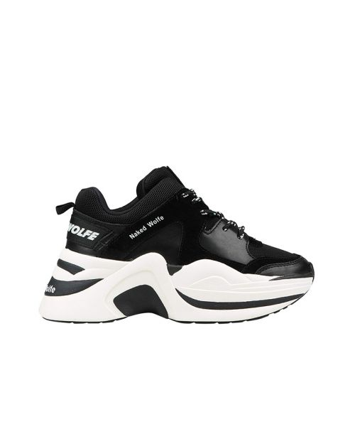 Naked Wolfe Track Black: off White Combo