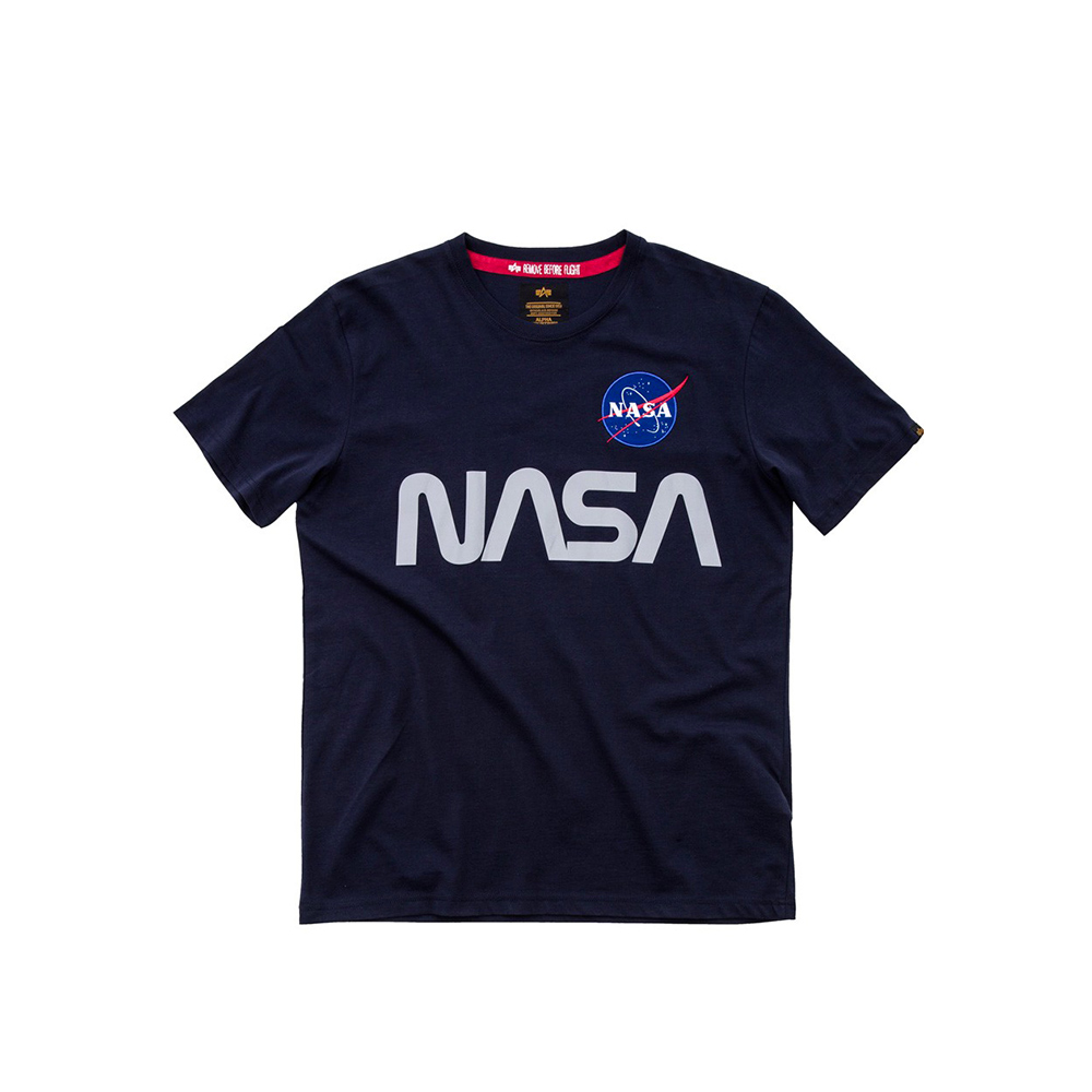 Alpha Industries Nasa Reflective T-shirt