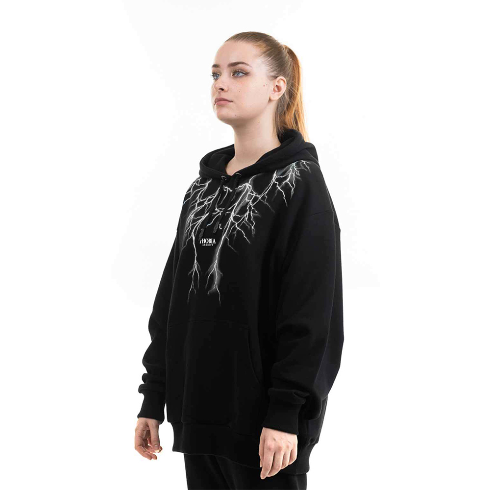 Phobia Felpa Hoodie White Lighting