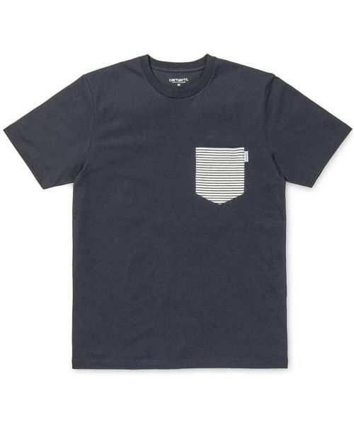 S/S Contrast Pocket T-shirt