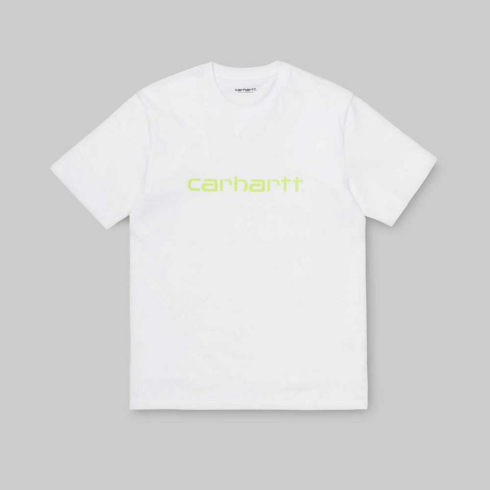 CARHARTT S:S T-shirt White : LIME