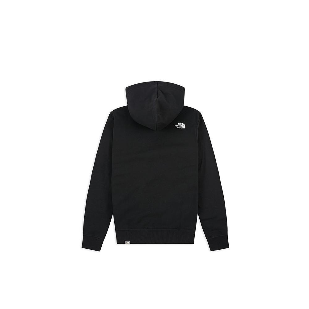 The North Face Felpa Standard Hoodie Black1