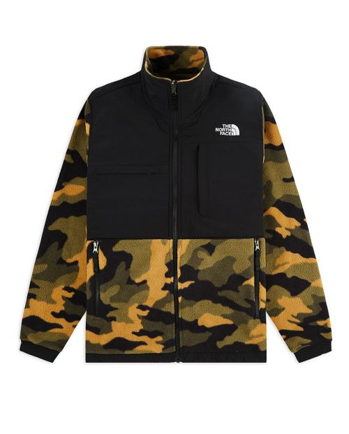 The North Face Pile Denali Jacket camo2