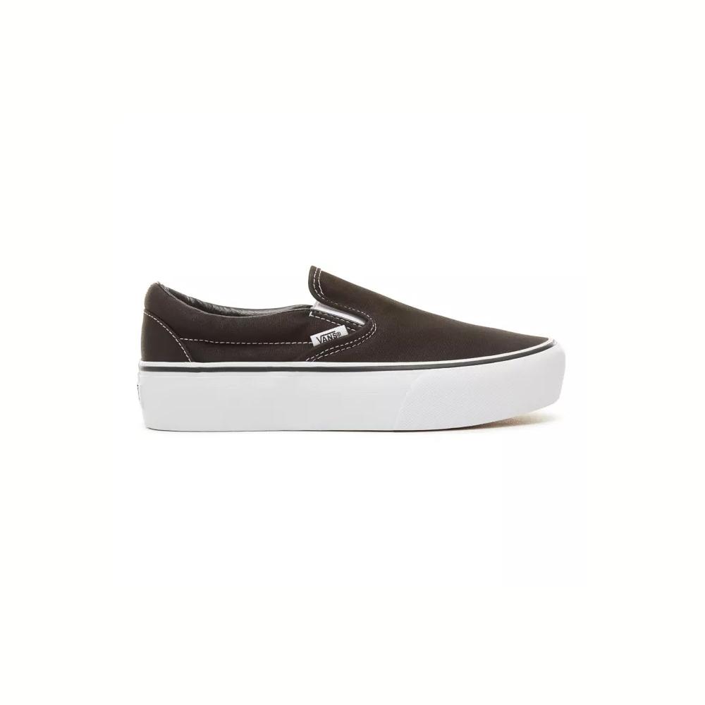 Vans Scarpe Platform Classic Slip-On Black