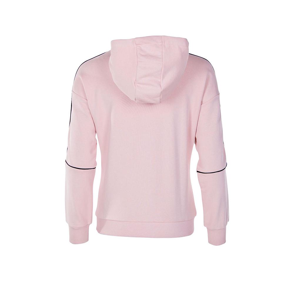 FILA Woman Tazara Reflective Taped Hoodie Descrizione Produttore: Fila Sesso: Donne Sport: Casual In forma: Standard Colore: Rosa Materiale: 65% cotone, 35% poliestere