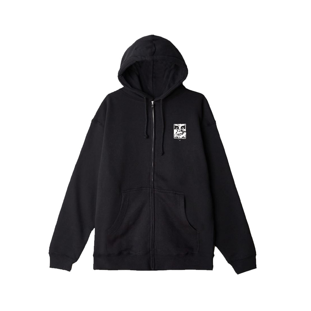 obey-cracked-icon-premium-zip-hooded-fleece-black