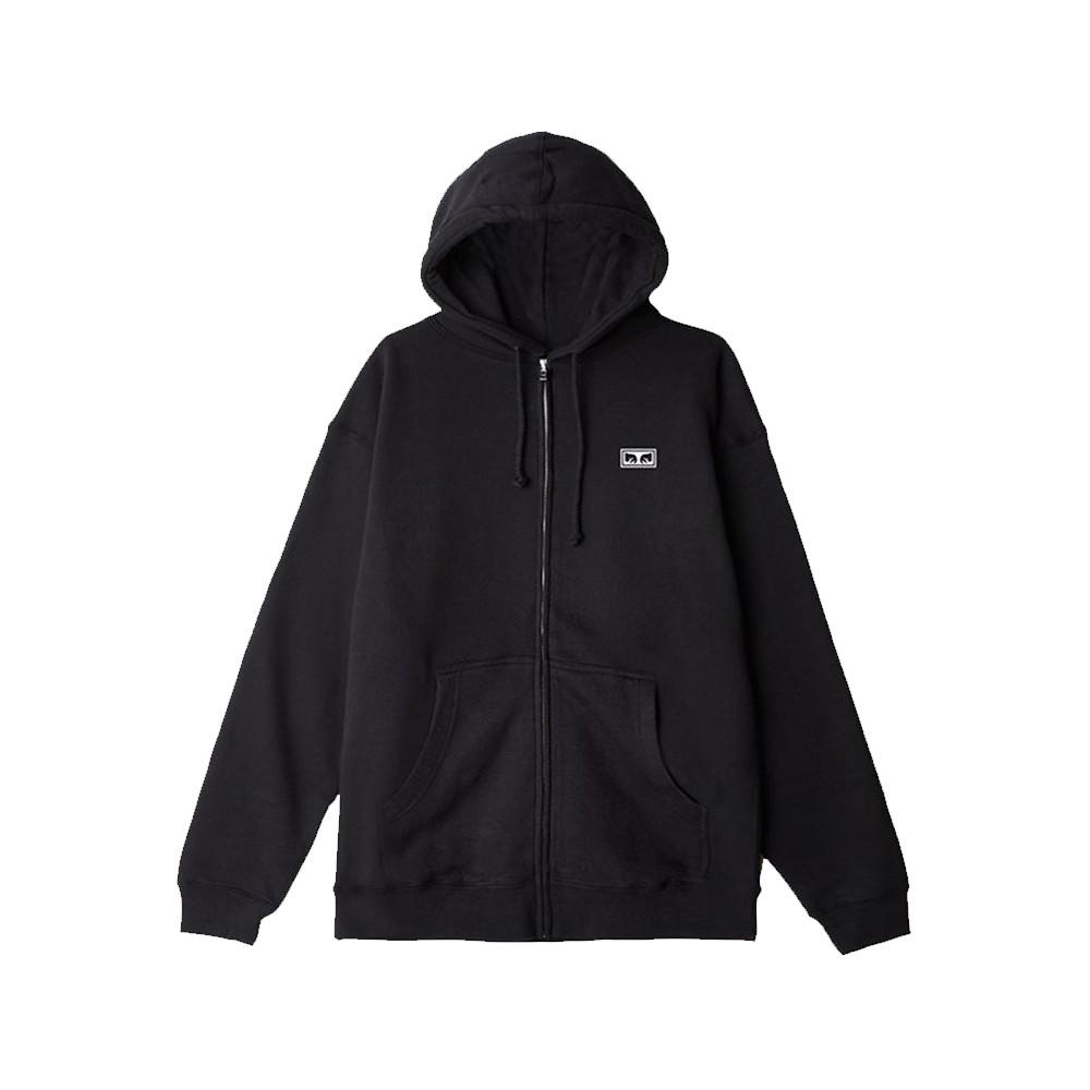 obey-jumble-lo-fi-basic-zip-fleece-hoodie-black (1)
