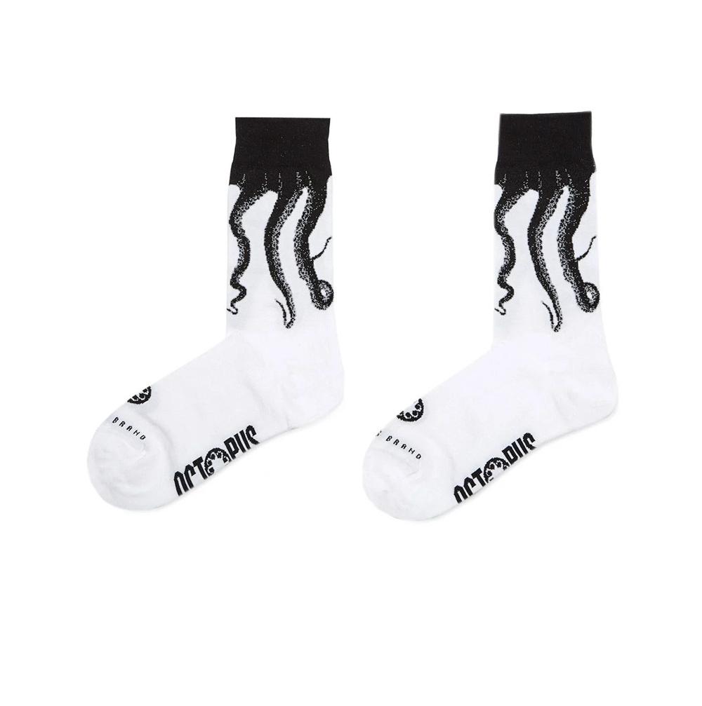 OCTOPUS Socks Original – White Black