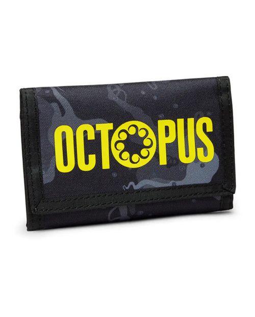 Octopus Camo Wallet -Black